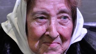 Murió Marta Vásquez, titular de las Madres de Plaza de Mayo Línea Fundadora