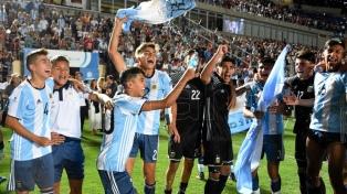 Argentina se dio vuelta a Brasil y se adjudicó en San Juan el Sudamericano Sub 15