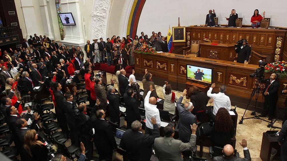 El chavismo recuperó el control de la Asamblea Nacional