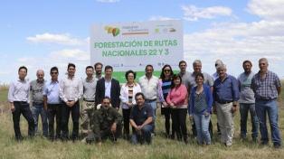 Expertos chinos evaluaron en Villarino estrategias contra la desertificación