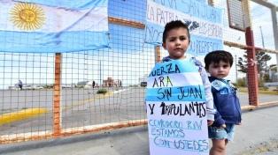 ARA San Juan: la causa por espionaje ilegal a familiares se tramitará en el Juzgado Federal de Dolores