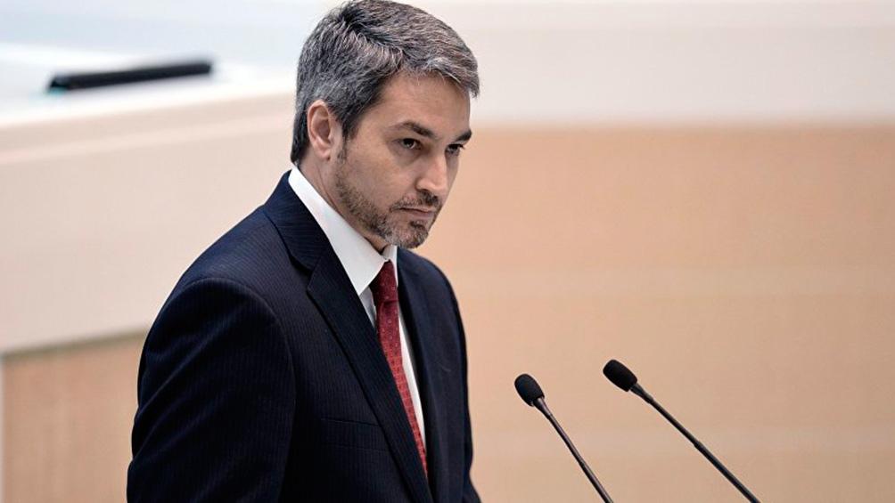 Mario Abdo Benítez, ANR - Partido Colorado