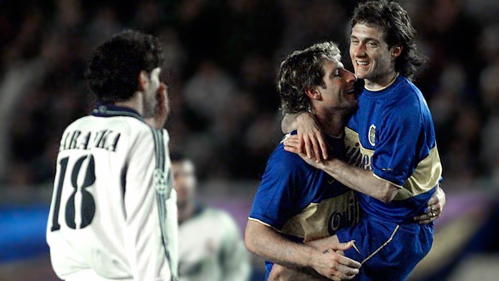 Guillermo y Palermo, junto a Riquelme, uno de los tridentes que más disfrutó el hincha de Boca