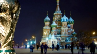 El trofeo de la Copa del Mundo llegó al Kremlin