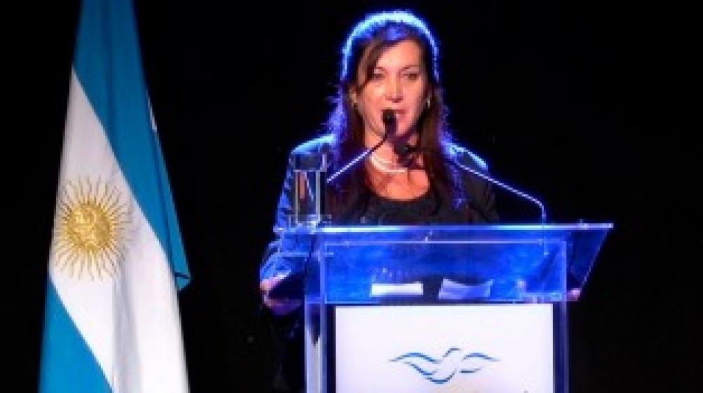 """Laura Rodríguez Machado explicó que """"no corresponde el tratamiento porque no hay ningún órgano extra poder al legislativo que le imponga el tratamiento de una normativa""""."""