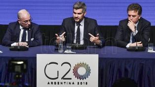 """Para Peña, la Argentina """"tiene que abrir la cabeza al mundo"""" para poder crecer"""