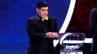 """""""Haremos gestiones para que Maradona acompañe el sueño de 2030"""", dijo Tapia"""