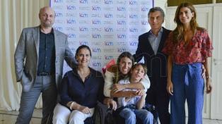 Macri, en el estreno de un corto sobre integración de personas con discapacidad