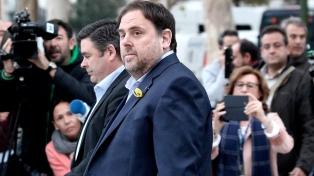 Gritos y tensión en el Legislativo por la jura de catalanes secesionistas