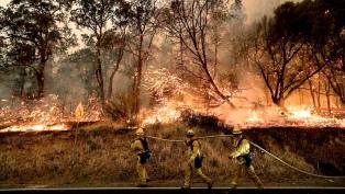 Los incendios por la sequía siguen arreciando en EEUU y Canadá