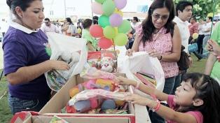 Red Solidaria lanzó la campaña navideña para la recepción de regalos