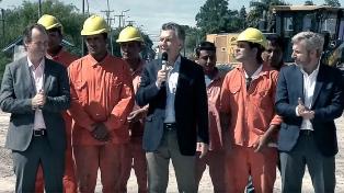 """Macri pidió """"respetar los tiempos y el momento"""" de las familias del ARA San Juan"""