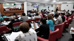 La legislatura declaró la emergencia de género en la provincia