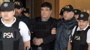 D'Elía y Esteche están alojados en Marcos Paz y Zannini y Khalil, en Ezeiza
