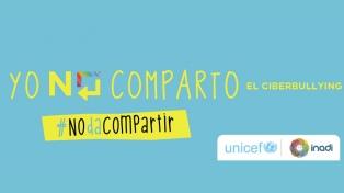 Unicef y el Inadi lanzan la 2da. edición de una campaña contra el ciberbullying