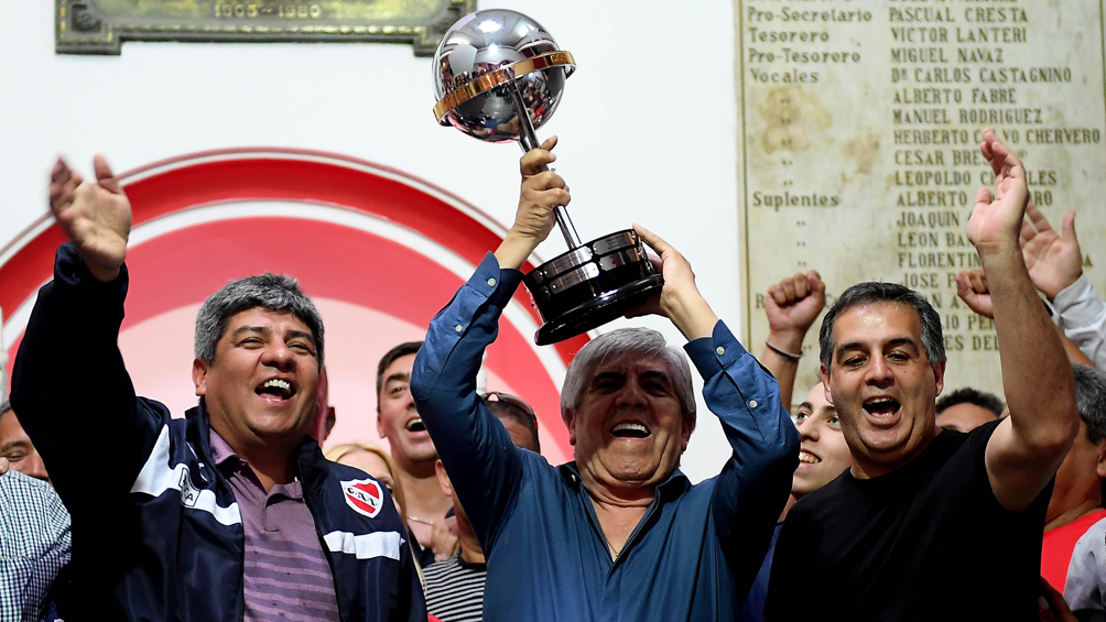 El oficialismo de Independiente confirmó a Hugo Moyano como su candidato