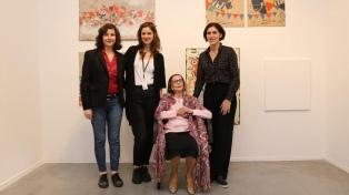 La artista Ides Kihlen celebra sus 100 años de vida en el Mamba