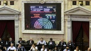 Diputados aprobó y giró al Senado el proyecto de Presupuesto 2018