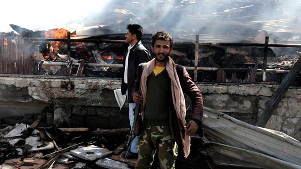 Las explosiones en el aeropuerto de Adén dejaron decenas de heridos