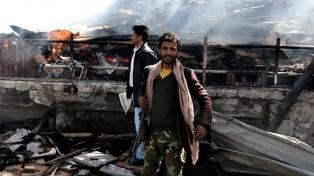 La coalición liderada por Arabia Saudita bombardeó y mató a 28 yemeníes