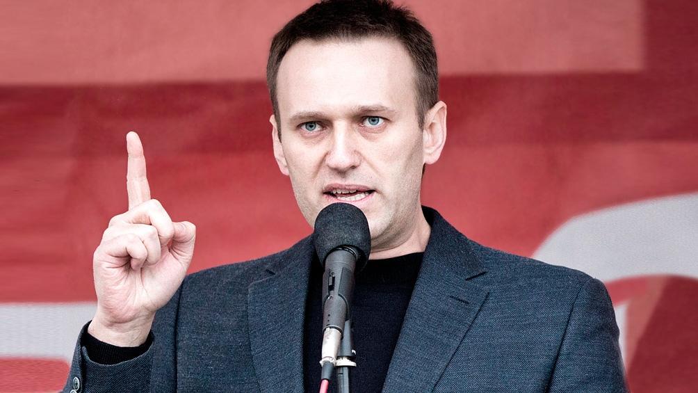 ناوالنی در سال 2014 به جرم پولشویی محکوم شد
