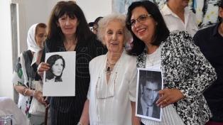 La nieta recuperada 127 es hija de la mendocina María del Carmen Moyano