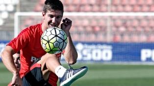 Vietto fue cedido por el Atlético de Madrid al Sporting Lisboa
