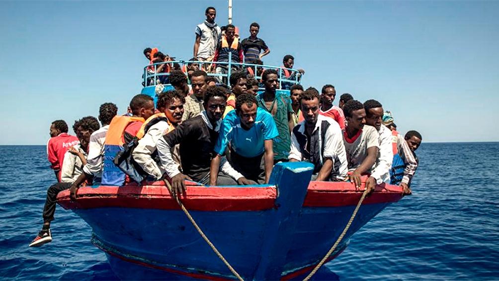 Los migrantes viajan en condiciones infrahumanas.