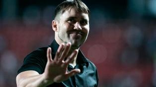 La UEFA autorizó a Coudet para estar en el banco y dirigir al Celta de Vigo
