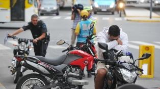 Más de 3.000 motociclistas murieron en accidentes de tránsito en 2018, según un estudio