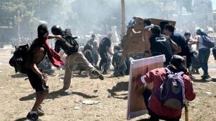 Incidentes en el Congreso: se entregó el militante del PO acusado de agredir a un policía