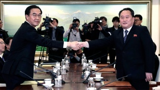 Las dos Coreas activaron la línea telefónica directa para asuntos militares