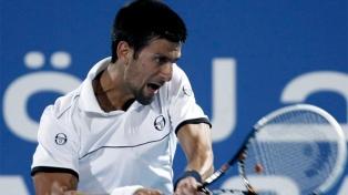 El serbio Djokovic regresó a la actividad con un triunfo
