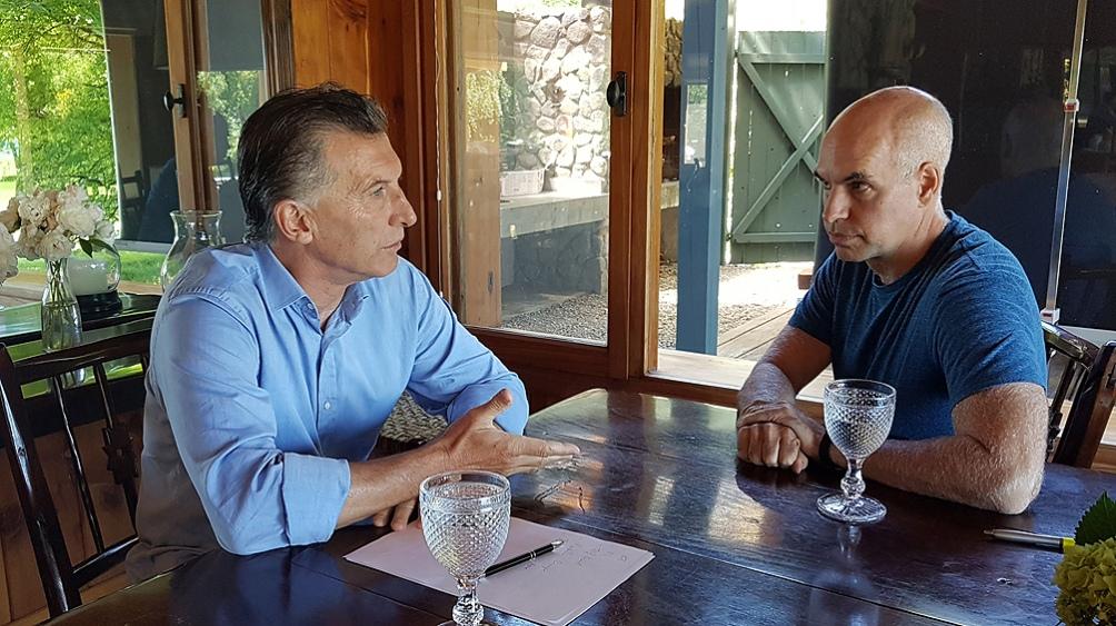 La relación personal entre Larreta y Macri, figura preponderante en el PRO, también tuvo sus desavenencias en 2020.