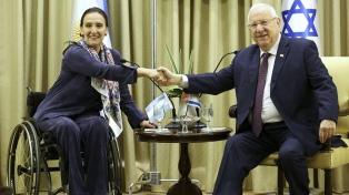 """Michetti se reunió con el presidente Rivlin y le expresó el interés argentino en una """"asociación estratégica"""" comercial"""
