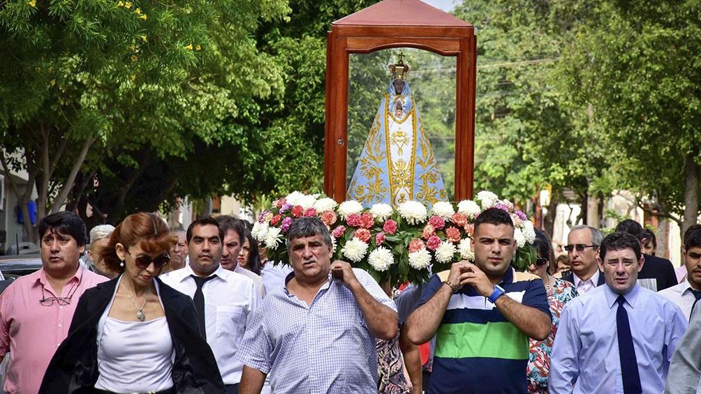 La Virgen del Valle, de la cual el joven tucumano Héctor René Barrionuevo es devoto incondicional.