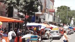 Los vendedores desalojados aceptaron la capacitación propuesta por la Ciudad