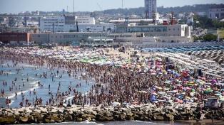 Comienza PAMI Playa en la ciudad balnearia