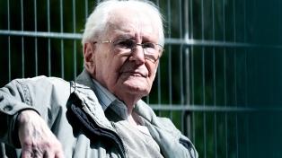 """La fiscalía rechazó indultar al """"contable de Auschwitz"""""""