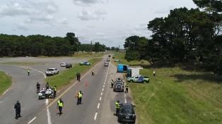 Frederic anunció que Gendarmería controlará las rutas para desalentar la circulación