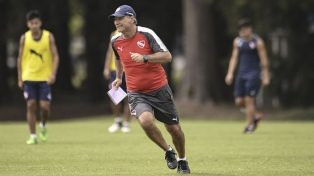 """Holan: """"Argentinos será un buen partido para medirnos"""""""