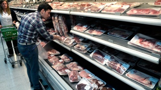 El consumo de carne vacuna por habitante era de 61 kilos en 2013.