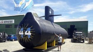 Llegará a Mar del Plata una réplica de 16 metros del ARA San Juan