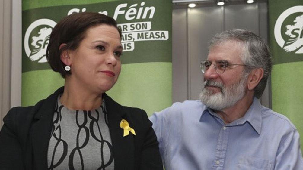 El Sinn Féin ganó las elecciones pero una gran coalición les impidió gobernar