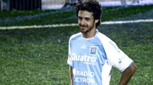 Pablo Aimar se retira del fútbol con la camiseta de Estudiantes de Río Cuarto