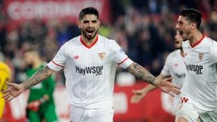 Sevilla de Ocampos y Banega empató 2 a 2 en su visita al Villarreal