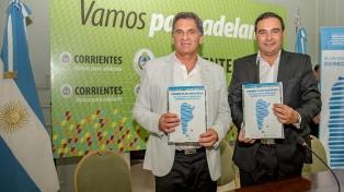 Avruj y el gobernador Valdés firmaron acuerdo para la creación de áreas de DDHH en municipios