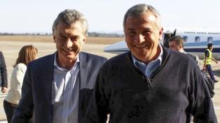 Macri llegó a Jujuy, donde desarrollará actividades con el gobernador Morales