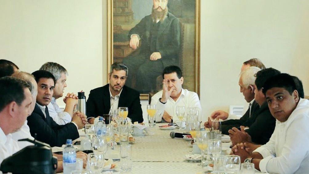 Abdo Benítez y Cartes en otros tiempos