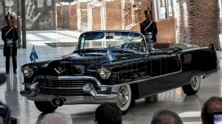 El museo de la Casa Rosada incorporó el Cadillac presidencial que compró Perón